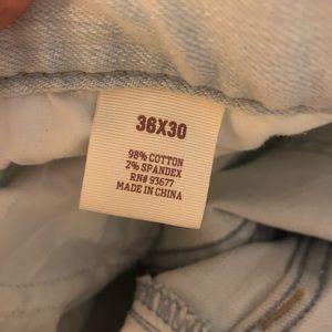 Arizona Jean Company Jeans - Arizona flex denim slim distressed 36x30